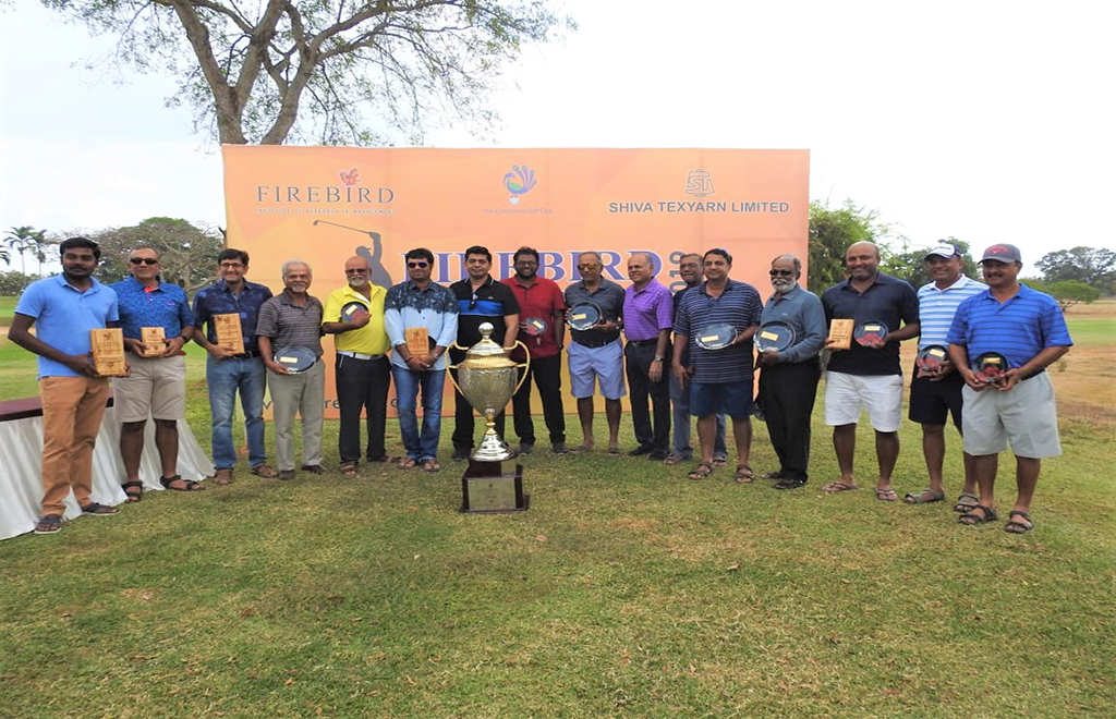 Firebird Coimbatore Open Golf Trophy