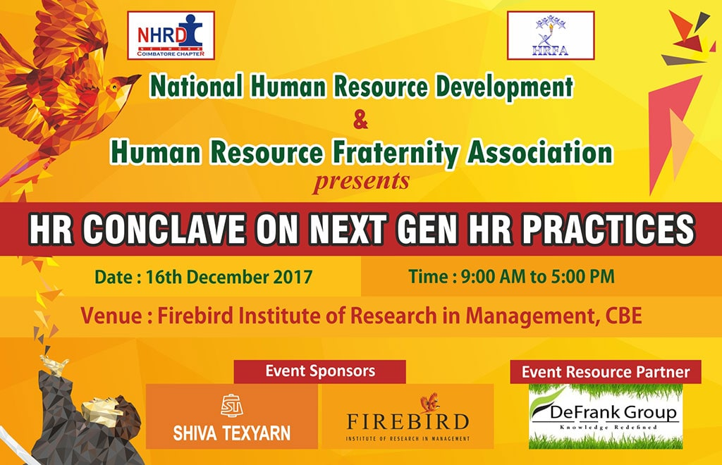 HR Conclave on Firebird