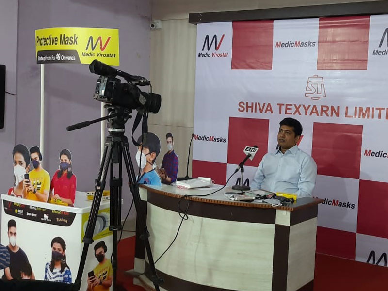 Shiva Texyarn launches reusable protective mask