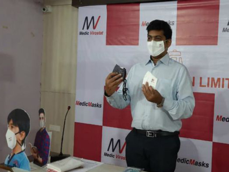 Shiva Texyarn Launches Medic Virostat Mask At Just Rs 49